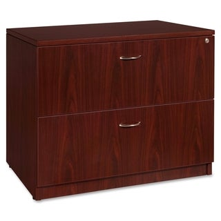 Lorell Essentials Mahogany Lateral File