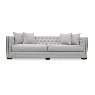 Marsell Premium Linen Tufted Sofa