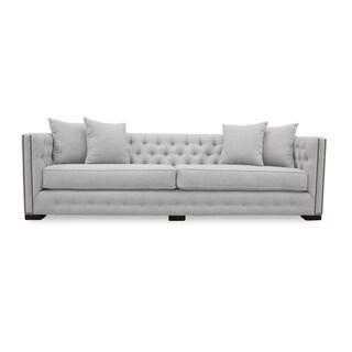 Marsell Premium Linen Tufted Sofa