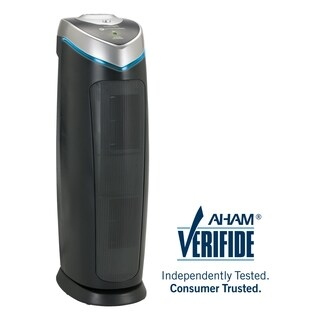 GermGuardian AC4825E 3-in-1 22-inch HEPA Tower Air Purifier with True HEPA Filter, and UV-C Sanitizer