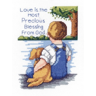 Shop Precious Blessing Mini Counted Cross Stitch Kit 5 Quot X7