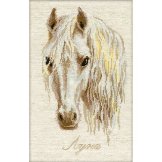 """Moon Counted Cross Stitch Kit-9.5""""X15.75"""" 16 Count"""