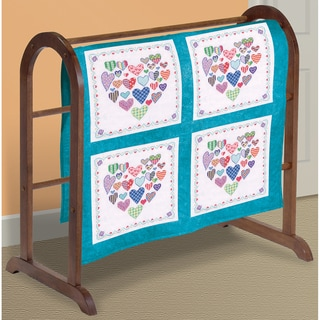 Shop Heart Filled W Hearts Quilt Blocks Stamped Cross