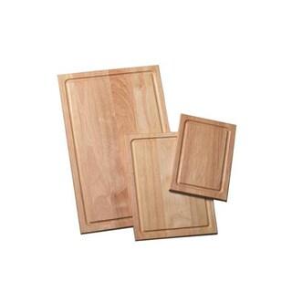 Farberware 3-piece Rubberwood Cutting Board Set