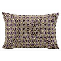 kathy ireland Marble Beads Purple Throw Pillowby Nourison (10-Inch X 14-Inch)
