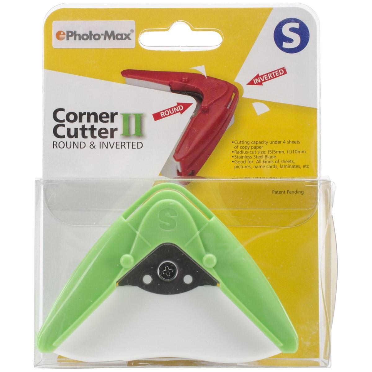 AIDOX Corner Cutter-Green (Green) (Paper)