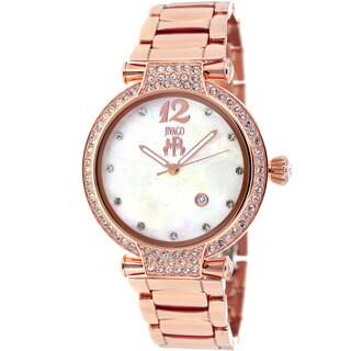 Jivago Women's JV2218 Bijoux Rose Goldtone Watch