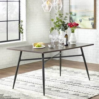 Simple Living Milo Mixed Media Large Dining Table