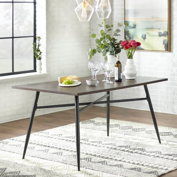 Shop Simple Living Milo Mixed Media Large Dining Table