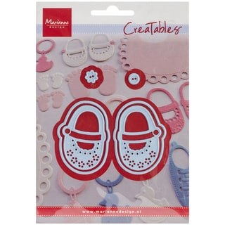 """Marianne Design Creatables Dies-My First Shoes, Up To 1.1875""""X1.8125"""""""