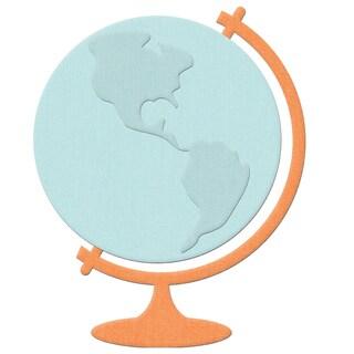 """Lifestyle Shape Die-Globe, 1.1""""X1.5"""" To 2.4""""X3.1"""""""