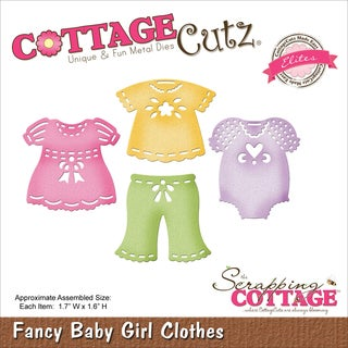 CottageCutz Elites Die-Baby Girl Clothes