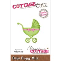 "CottageCutz Mini Die 1.5""X1.5""-Baby Buggy"