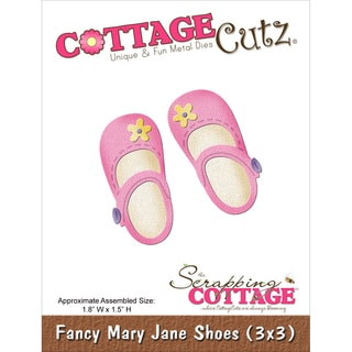 "CottageCutz Die 3""X3""-Fancy Mary Jane Shoes"