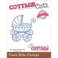 """CottageCutz Elites Die 2.3""""X2.3""""-Baby Carriage"""