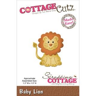 """CottageCutz Die 1.3""""X1.5""""-Baby Lion"""
