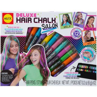 Deluxe Hair Chalk Salon Kit|https://ak1.ostkcdn.com/images/products/9263538/P16427751.jpg?impolicy=medium