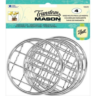Transform Mason Ball Lid Inserts 4/Pkg-Frog Wide Mouth