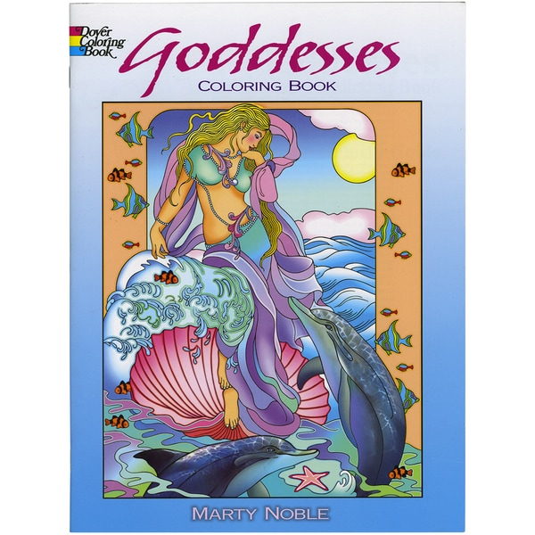 Dover Publications-Goddess Coloring Book