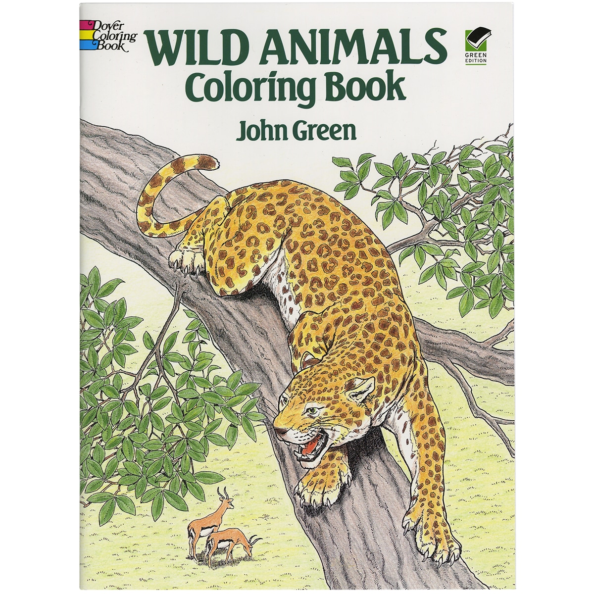 - Shop Dover Publications-Wild Animals Coloring Book - Free Shipping