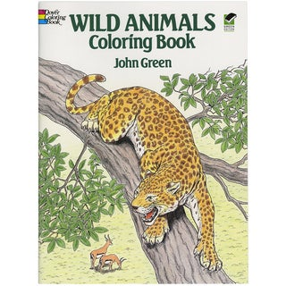 Dover Publications-Wild Animals Coloring Book