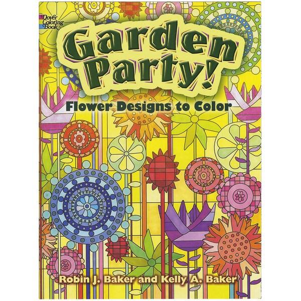 Dover Publications-Garden Party Coloring Book