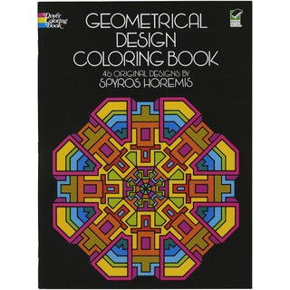 Dover Publications-Geometrical Design Coloring Book