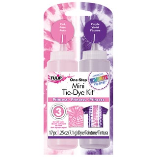 Tulip Mini Liquid Tie-Dye Fabric Dye Kit-Princess