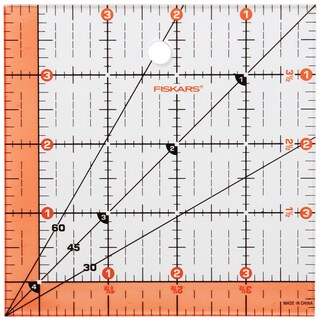 "Fiskars Quilting Ruler-4-1/2""X4-1/2"""