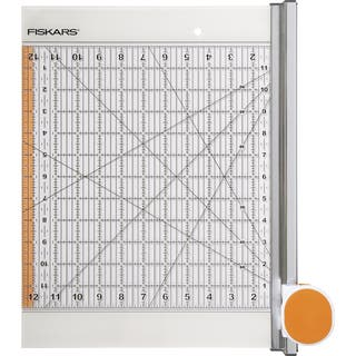 """Rotary Ruler Combo For Fabric Cutting-12""""X12""""