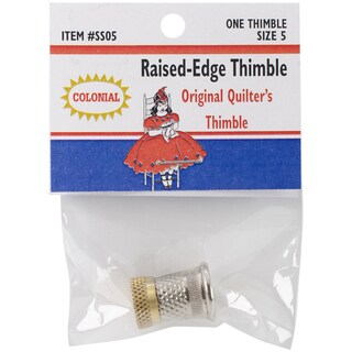 Raised-Edge Thimble-Size 5