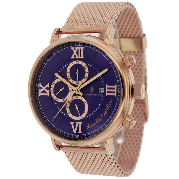 Christian Van Sant Men's Somptueuse Limited Edition Watch