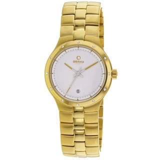 Obaku Women's Harmony Goldtone Stainless Steel Watch