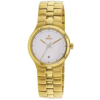 Obaku Women's Harmony Goldtone Stainless Steel Watch
