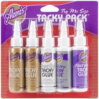 Aleene's Trial Tacky Pack .66oz 5/Pkg