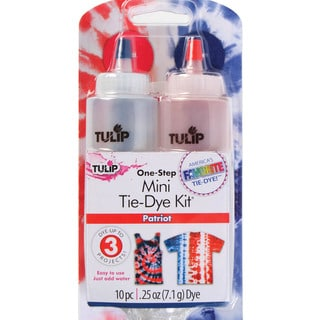 Tulip Mini Liquid Tie-Dye Fabric Dye Kit-Patriot