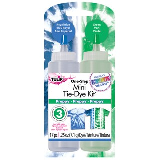 Tulip Mini Liquid Tie-Dye Fabric Dye Kit-Preppy
