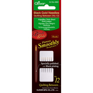 Black Gold Quilting Betweens Needles-Size 12 6/Pkg