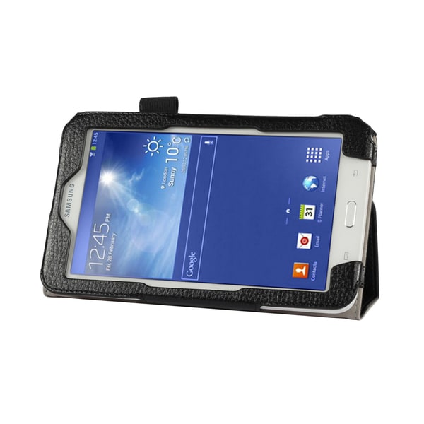 Shop Double Fold Folio Case For Samsung Galaxy Tab 3 Lite