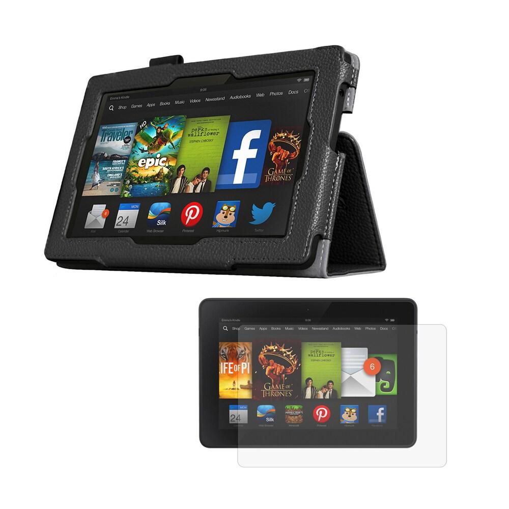 MGEAR Accessory Bundle for Kindle Fire HD 7, Black #94386...