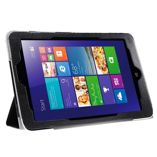 Shop Tri Fold Folio Case For Lenovo Miix 2 8 In Tablet