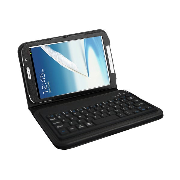 Shop Bluetooth Keyboard Folio For Samsung Galaxy Note 8 0