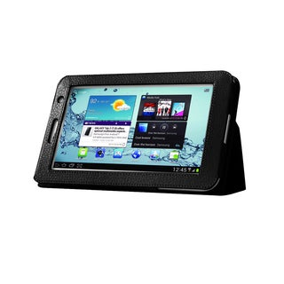 Black Double-Fold Folio Case for Samsung Galaxy Tab 2 7.0 in. Tablet