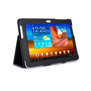 Black Double-Fold Folio Case for Samsung Galaxy Tab 10.1 in. Tablet