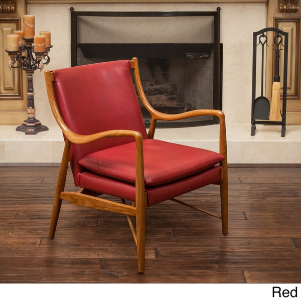 Newport Wood Frame Chair By Christopher Knight Home Free