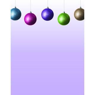 Glitzy Bulb Holiday Designer Paper
