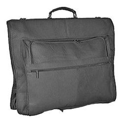 David King Leather 208 48in Garment Bag Black