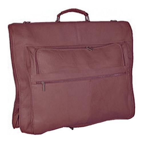 6910c3459e39 Shop David King Leather 208 48in Garment Bag Cafe - On Sale - Free Shipping  Today - Overstock.com - 9265271