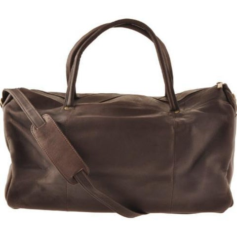 David King Leather 313 Classic Duffel Cafe