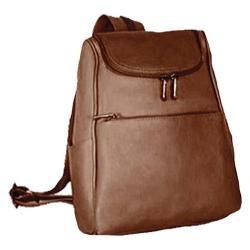 Women's David King Leather 315 Women's Small Backpack Cafe